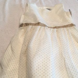 NWT Carter's Just for You gold tan full dress 5T